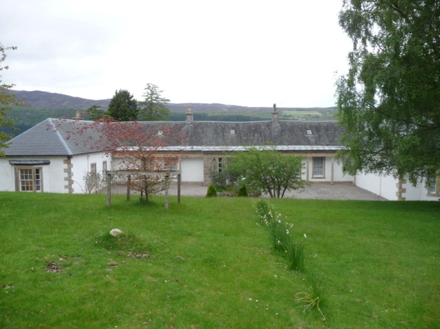 Rear view of Boleskine House