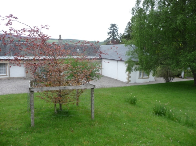 Back of Boleskine House