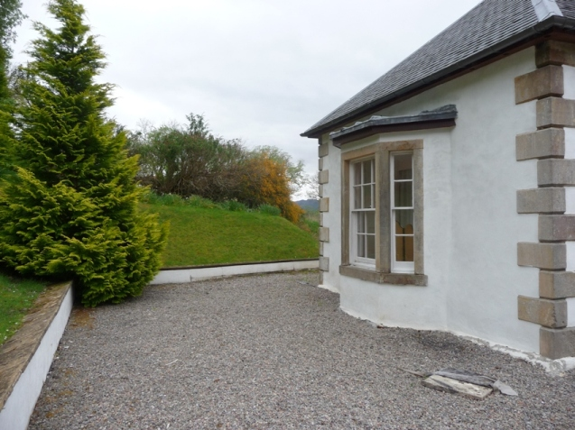 Another rear view of Boleskine House