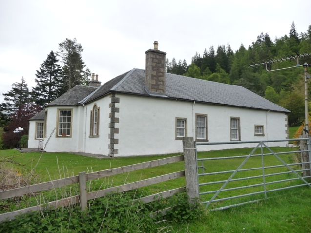 Boleskine House from one side