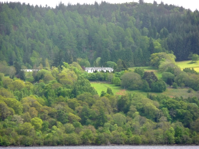 Closer view of Boleskine