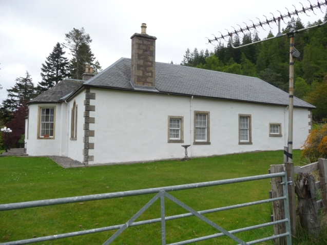 Side of Boleskine House